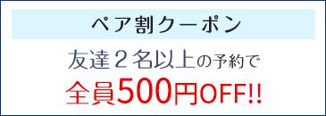 エアライン用ペア割クーポン