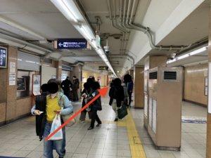 烏丸駅から行き方1