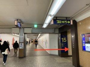 烏丸駅から行き方2