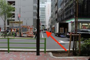 メトロ京橋駅線から行き方3