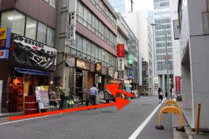 メトロ京橋駅線から行き方4