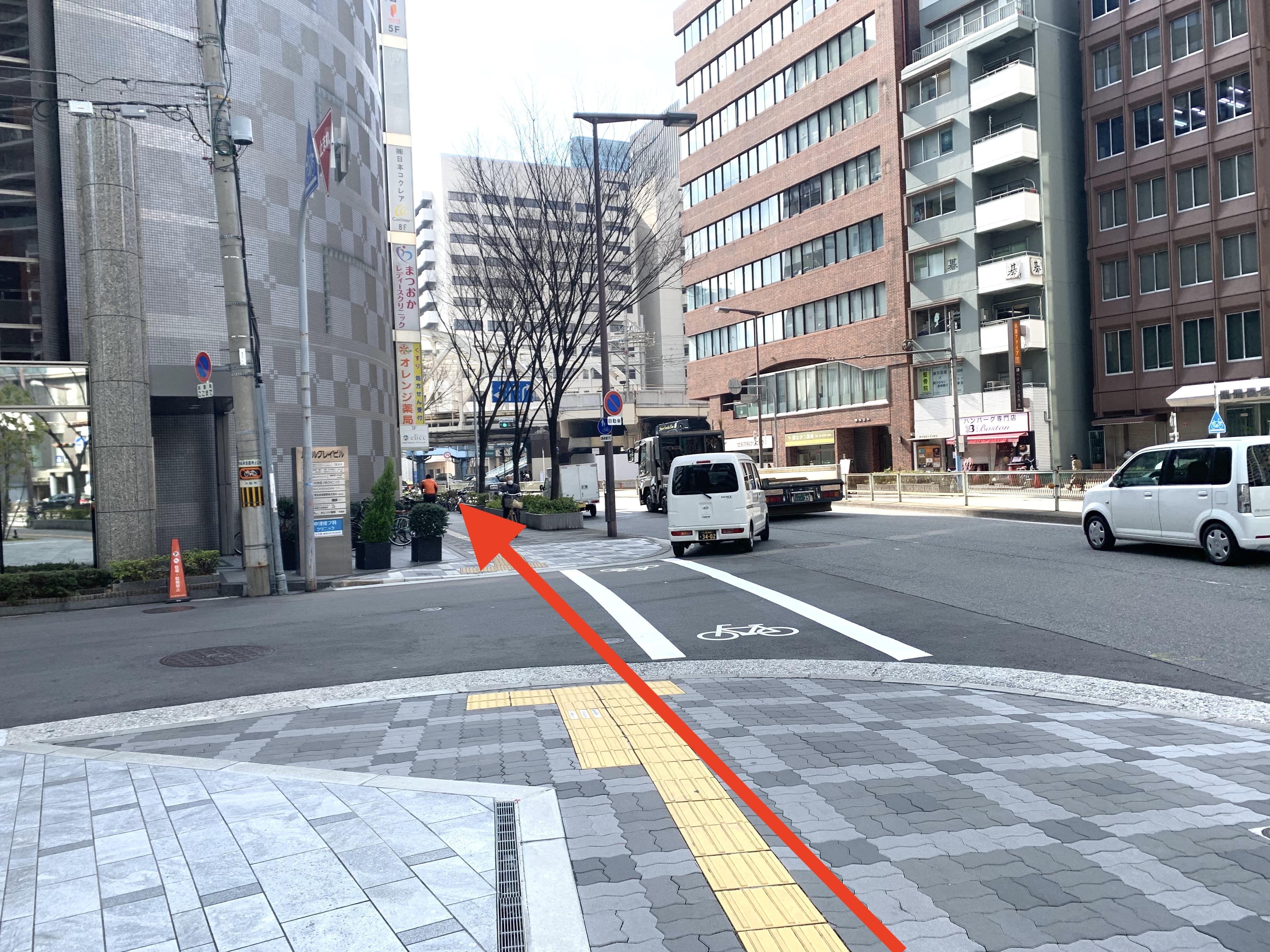 御堂筋線中津駅から行き方2