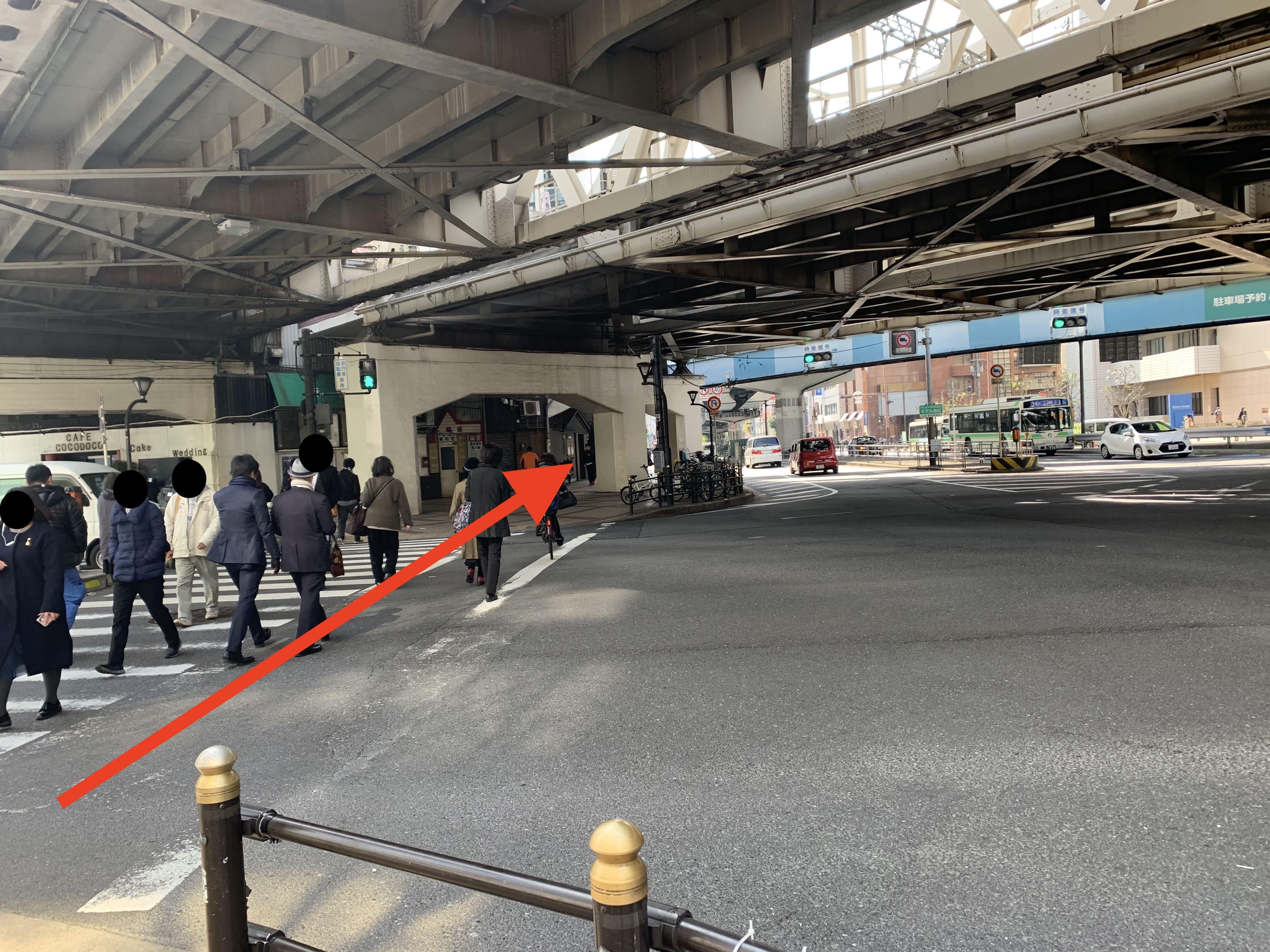 御堂筋線中津駅から行き方4