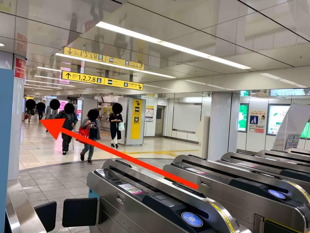 栄駅から行き方1