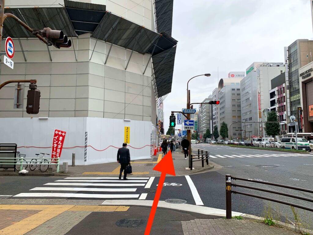 栄駅から行き方4