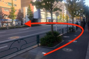新宿駅から行き方10