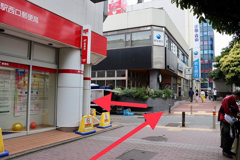JR横浜駅から行き方5
