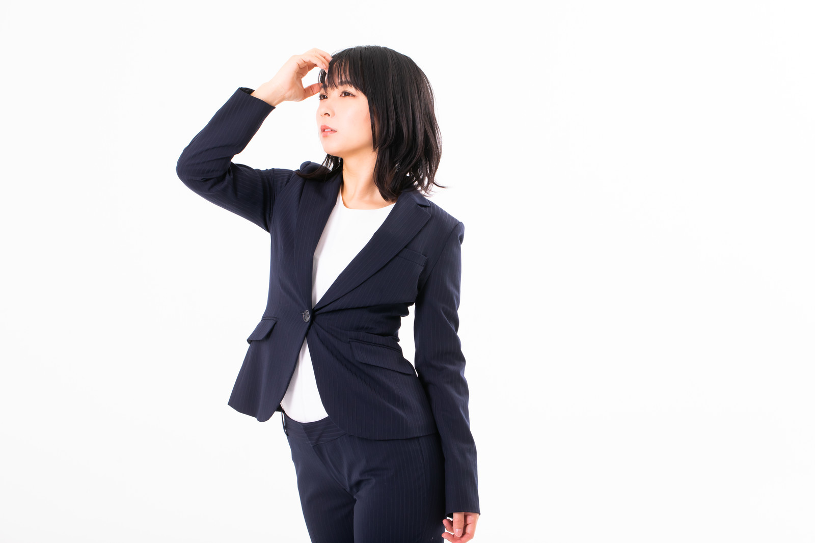 エアライン証明写真で髪型の下ろしヘアOKな場合やセット手順を紹介!