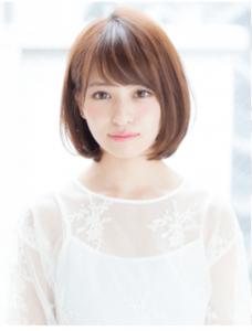 エアライン写真でオン眉・ぱっつんについて、前髪短め女子におすすめのスタイルを紹介!5